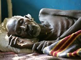 la hambruna en africa