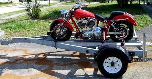 diy motorcycle trailer