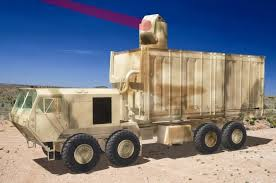 military laser weapon