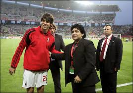 Kaka Slams Maradona Over Handball Accusations