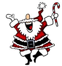 animated dancing santa