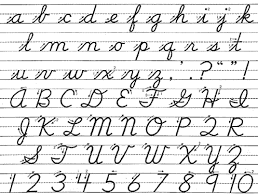 cursive write