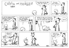 calvin and hobbs comics