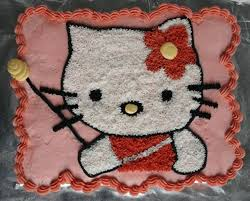 pasteles de hello kitty