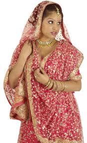 dulhan saree