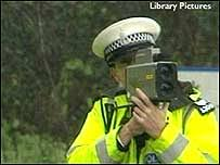 hand held speed cameras