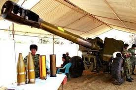 artillery cannons