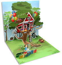 greeting card tree