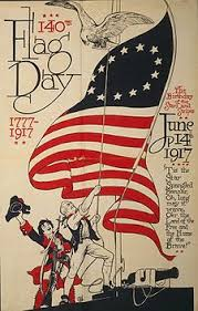 Flag Day on 14 June 1917