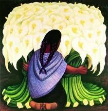 diego rivera flower seller