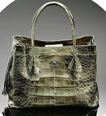 alligator handbag