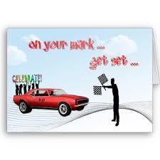 car birthday cards