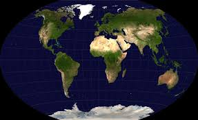 geographical maps of the world