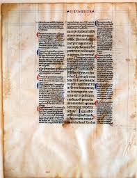 manuscript bible