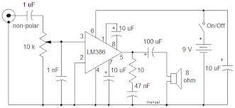 lm386 audio amplifier ic