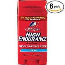 high endurance deodorant