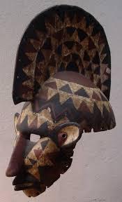 antique mask