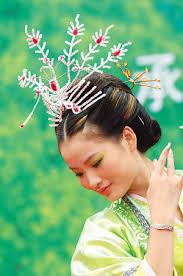china hair style
