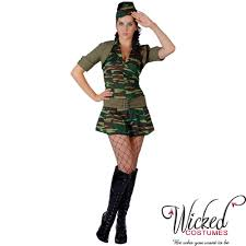 army fancy dress costumes