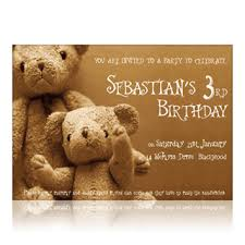 kids party invitation card
