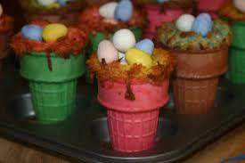 colored ice cream cones