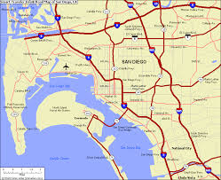 map of sandiego