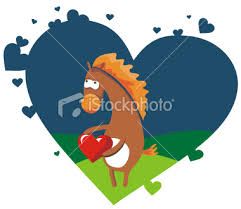horse valentines cards