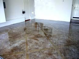 etched concrete floor