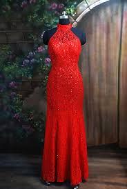 formal red dresses