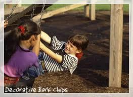 decorative bark chips