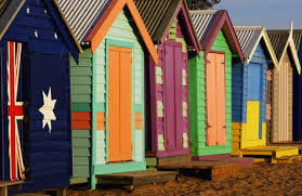 beach hut pictures