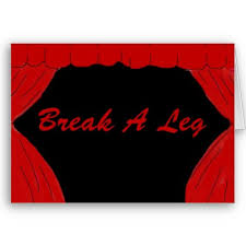 break a leg cards