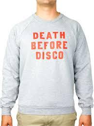 death before disco shirt