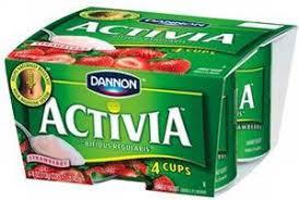 activia yoghurts