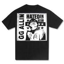 gg allin shirts