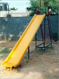 slide children