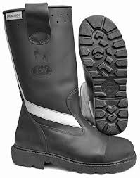 leather firefighting boots