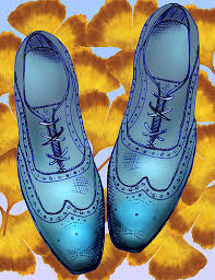 leaves shoes