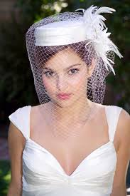 pill box hat with veil