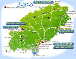 ibiza on map