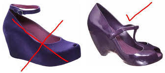 hidden platform shoe