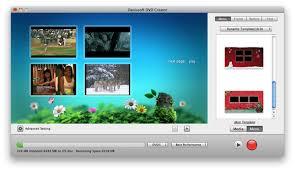 dvd menu format