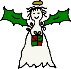 free christmas angel clipart