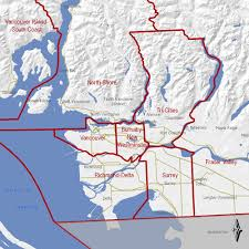 map of bc lower mainland