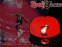 miami heat fitted hat