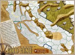 california gold rush maps