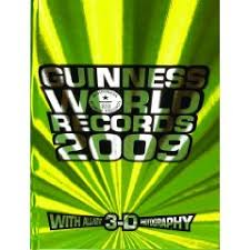 guinness world record book 2009