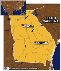 atlanta on map