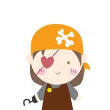 pirate girl clip art