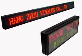 moving led displays